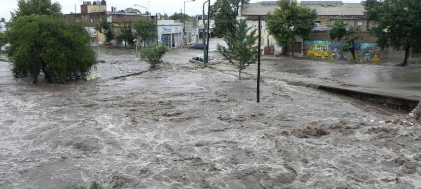 Flooding in Cordoba, Argentina
