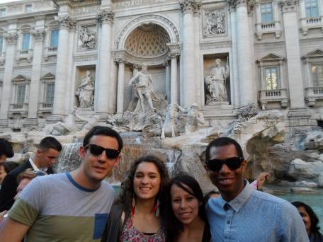 Rome, Italy, Europe, Trevi Fountain
