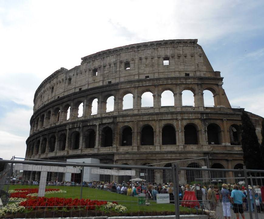 Rome, Italy, Europe, Colosseum