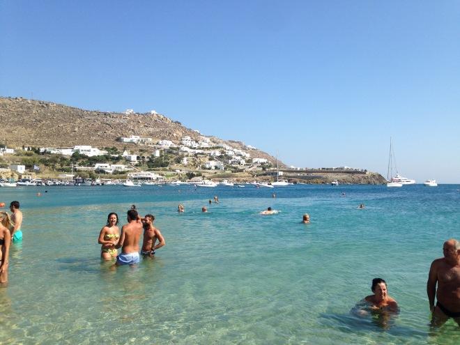 Mykonos, Greece, Europe, Vacation, Beach