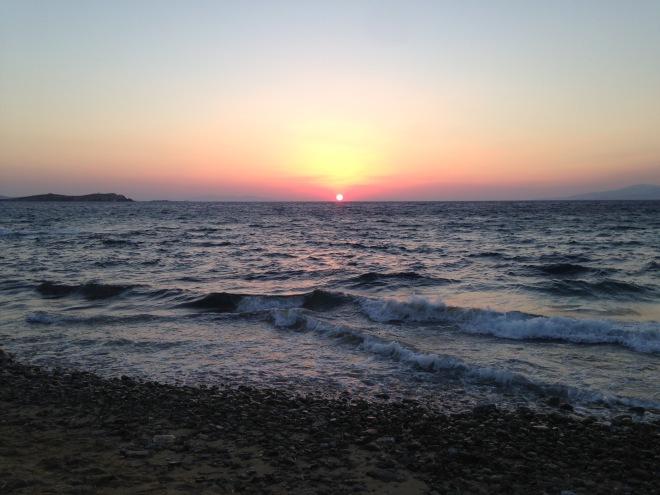 Mykonos, Greece, Europe, Vacation, Sunset