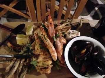 Mykonos, Seafood, Greece, Europe, Vacation, Dinner