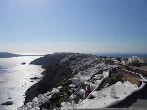 Santorini, Greece, Europe, Oia, 12km Walk