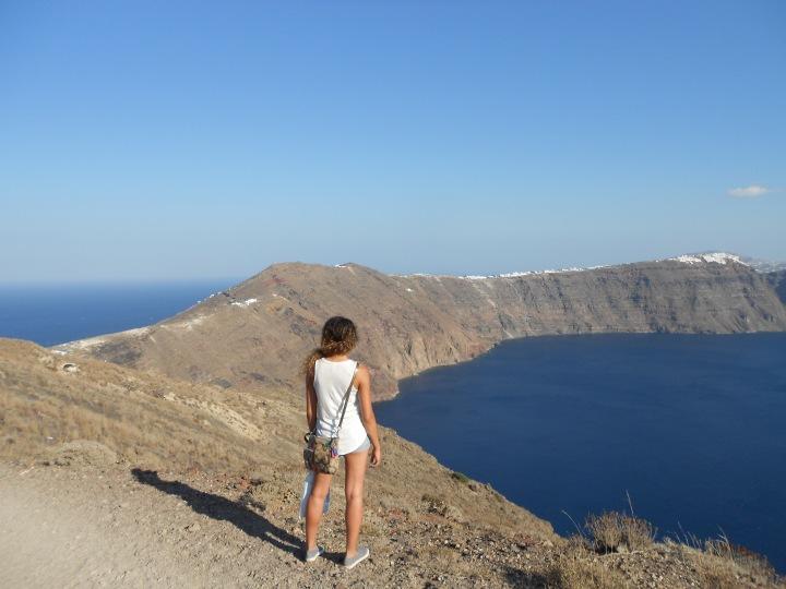 Santorini, Greece, Europe, 12km Walk