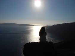Santorini, Greece, Europe, 12km Walk, Sunset