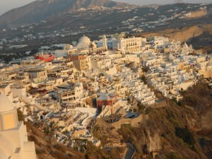 Santorini, Greece, Europe, Thira, Fira