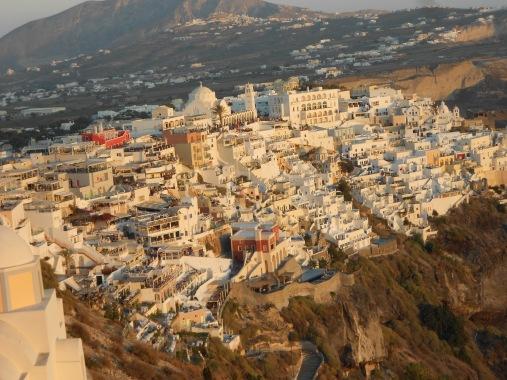 Santorini, Greece, Europe, Thira, Fira