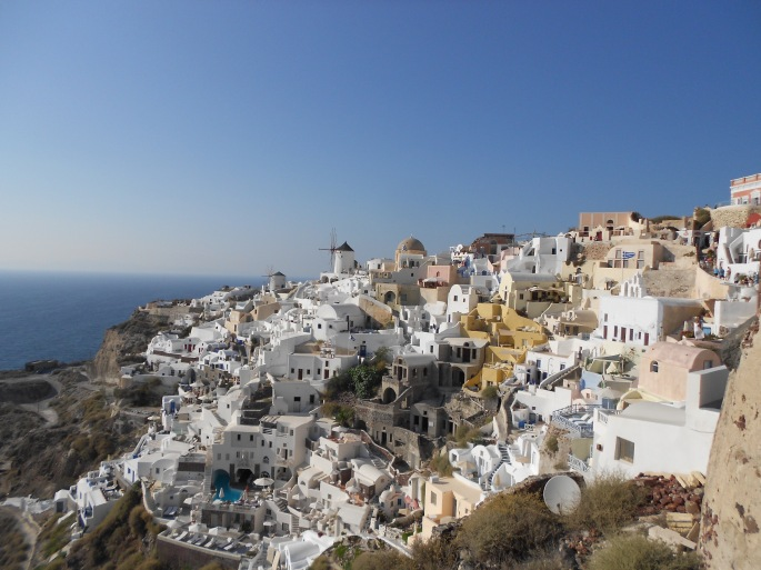 Santorini, Greece, Europe, Oia