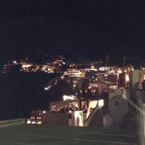 Santorini, Greece, Europe, Night