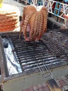 Santorini, Greece, Europe, Seafood